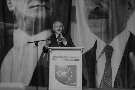 Kemal Kılıçdaroğlu Fransa'da Konuştu