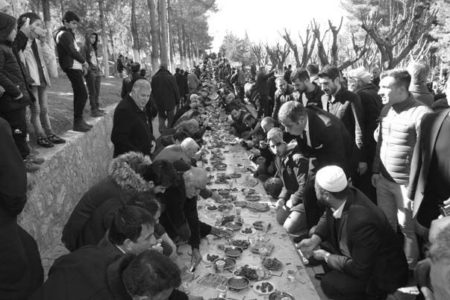 500 Metrelik Sofrada Şeyh Süleyman Bağdu Anıldı