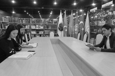 Astana'daki Türk Kütüphanesi Nadir Kitaplarıyla Türkologların İlgi Odağı