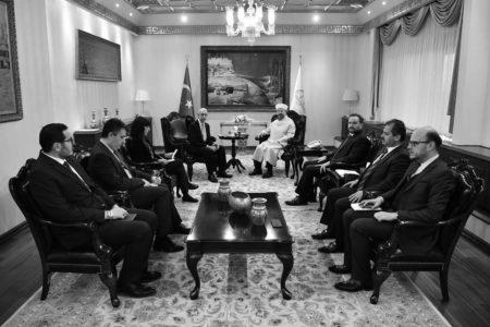 Büyükelçiler Diyanet'i Ziyaret Etti