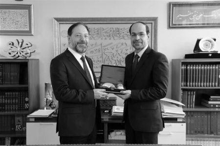 Diyanet İşleri Başkanı Erbaş, CAIR Başkanı Awad ile Görüştü