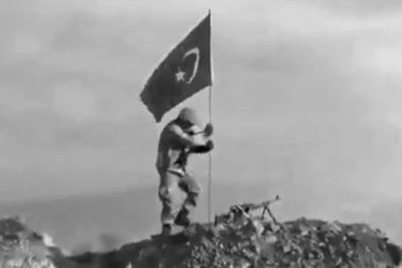 DARMIK DAĞI'NA TÜRK BAYRAĞI DİKİLDİ!..