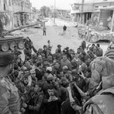 Esad Doğu Guta'da katliam yaptırdığı askeri birlikleri ziyaret etti
