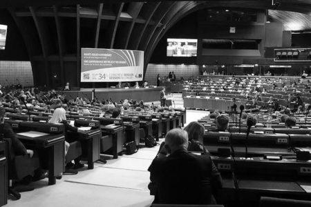 Avrupa Konseyinin terör örgütü destekçisine konuşma izni tepki çekti