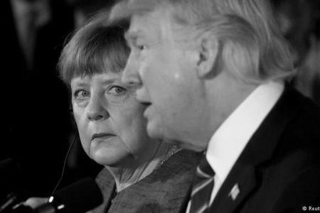 Merkel ve Trump ABD'de Görüşecek