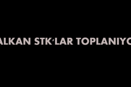 BALKAN STK(DERNEKLER), ARNAVUT BAKANIN KATILIMIYLA TOPLANIYOR