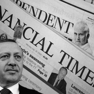 FINANCIAL TIMES'TAN CUMHURBAŞKANI ERDOĞAN'A KÜSTAHLIK