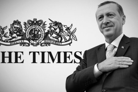 TIMES'TAN BİR SKANDAL DAHA!