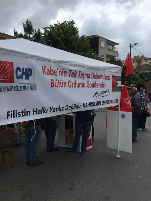 CHP'NİN FİLİSTİN'LE İMTİHANI! REZİLLİK!