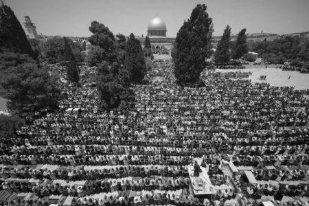 MESCİD-İ AKSA'DA SON CUMA NAMAZI