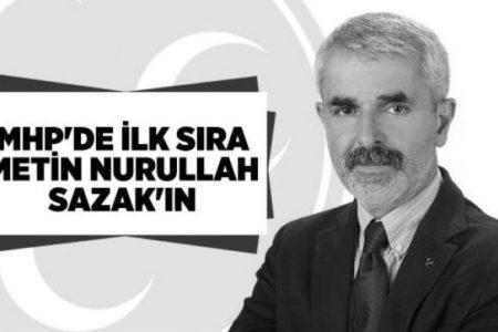 SAZAK: GEREKTİĞİ YERDE MUHALEFET DE YAPACAĞIZ!..